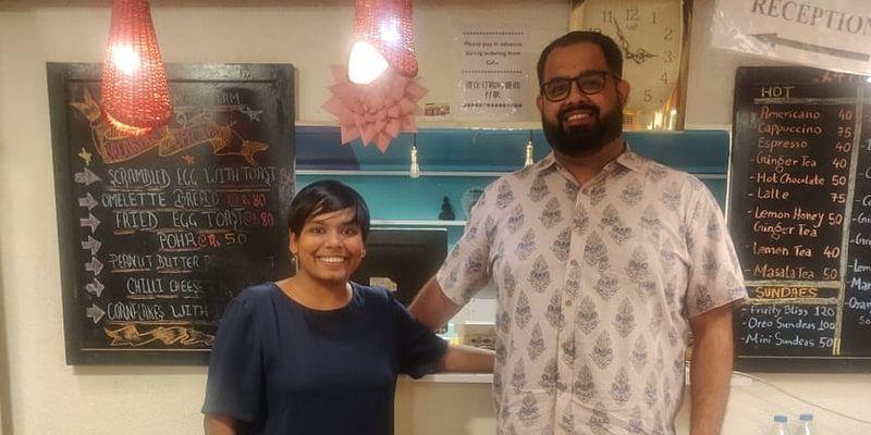 Co-founders of goStops: Pallavi Agarwal and Pankaj Parwanda