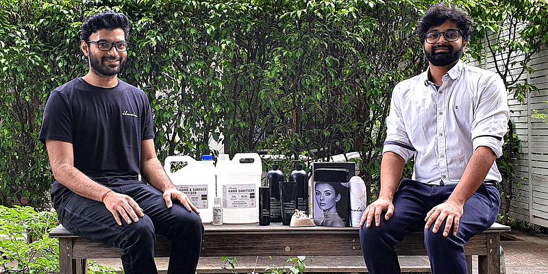 Renaura cofounders Nishant Gupta and Palash Pandey