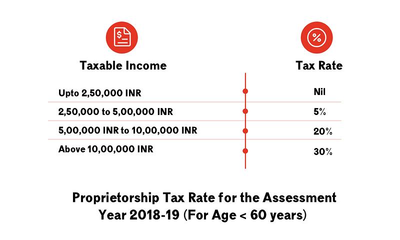 income tax return filings for proprietor