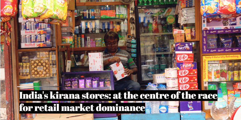 kirana stores, India retail market, Amazon, Reliance Retail, Flipkart, Walmart, Metro