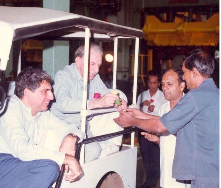 Ratan Tata, JRD Tata