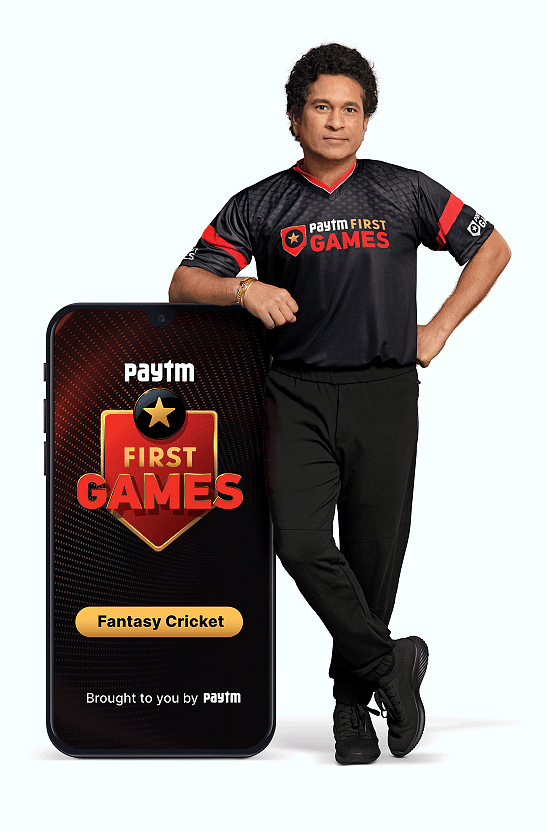 Sachin Tendulkar_Paytm First Games