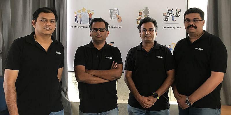 Kouzina founders , warmoven, foodtech startup