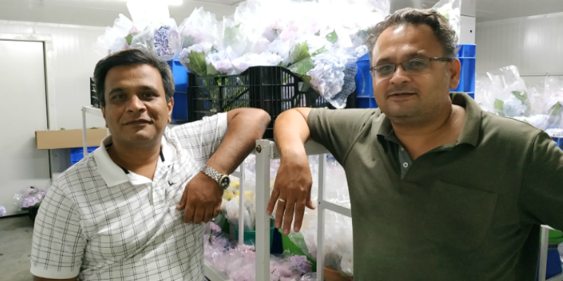 Girish (left) and Anshuman (right), Founders and Directors, The Flora