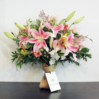 The Flora's Lily Delight arrangement