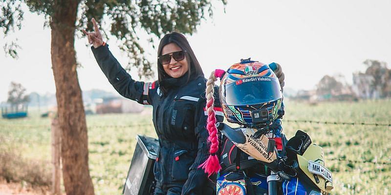India's first female motovlogger