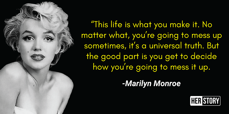 The Marilyn monroe quotes sayings | Quotes About Life |Marilyn Monroe Quotes And Sayings About Love