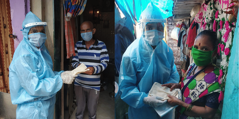 IIM WOMEN, IIMWSA, mask distribution, coronavirus
