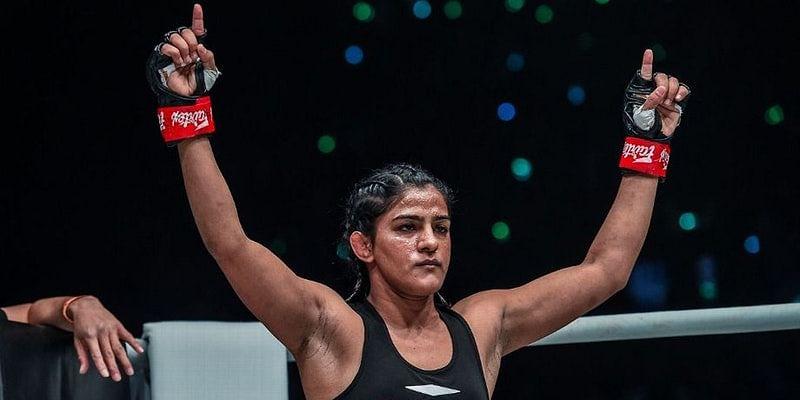 Ritu Phogat wins at ONE: Age of Dragons