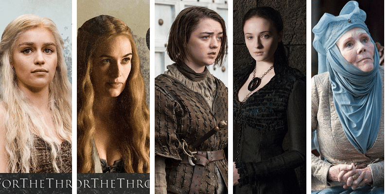 bd9b2b3b859 Love 'em or hate 'em but the women of Game of Thrones can teach us some  important life lessons