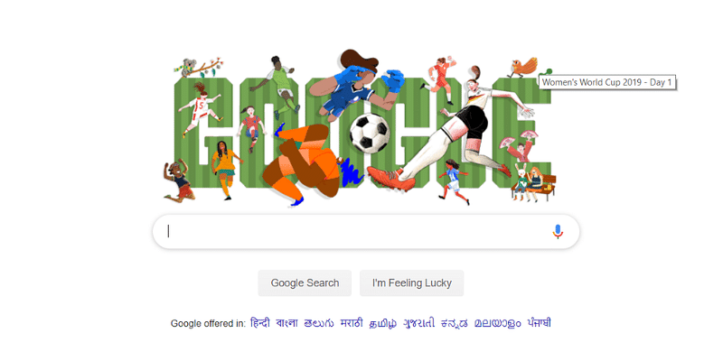 Special Google Doodle Kicks Off Fifa Women S World Cup 2019