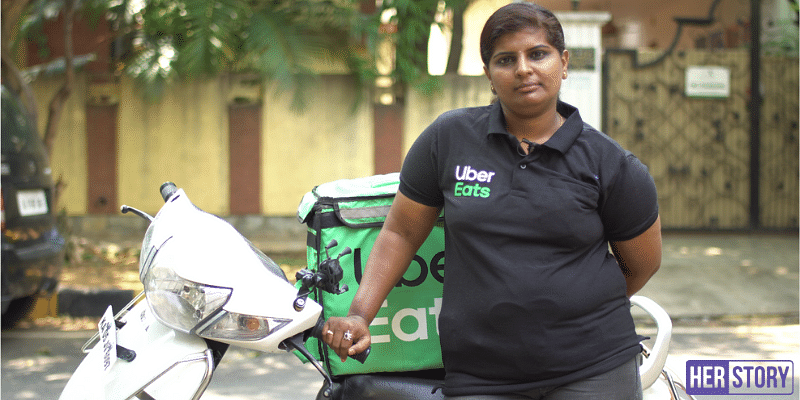 The story of 350+ investor rejections; Meet India's first transwoman Uber Eats delivery partner