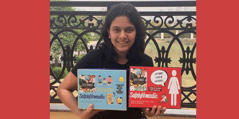 This 14-year-old student has designed safety kits for women and children  and has made sales worth Rs 60K in a month