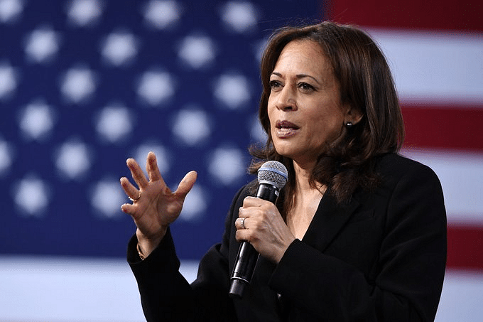 Image result for Kamala Harris announces plan to certify that Men & <a class='inner-topic-link' href='/search/topic?searchType=search&searchTerm=WOMEN' target='_blank' title='click here to read more about WOMEN'>women</a> paid equally