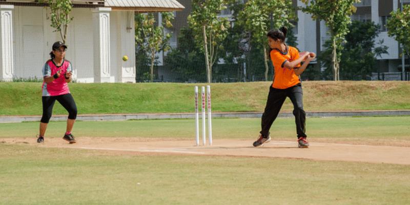 cricket, girls