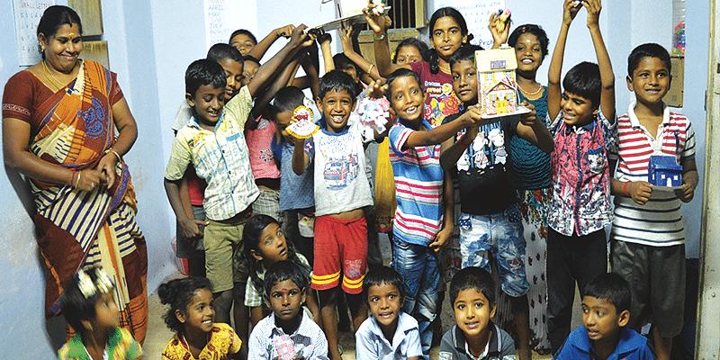 Nukkad Pathshala, Tamil Nadu, Children