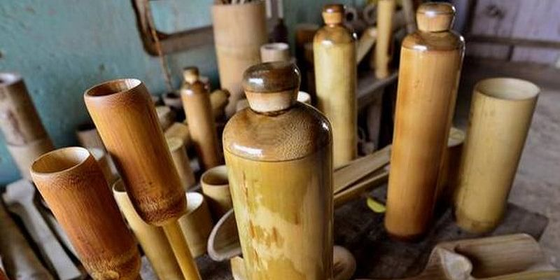 This man from Assam is making eco-friendly bamboo water