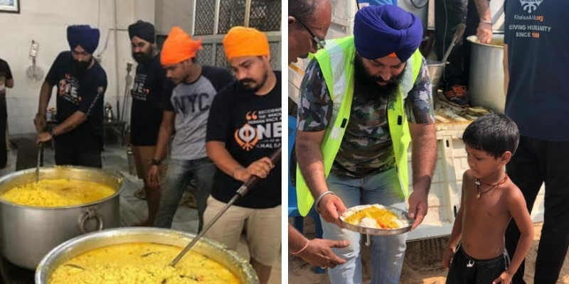 UK-based Khalsa Aid Brings Hot Food And Clean Water To