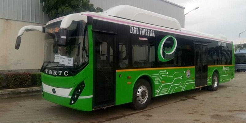 hyderabad electric bus