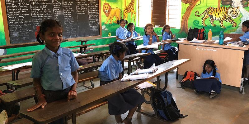government school, rural education, OSAAT, infrastructure