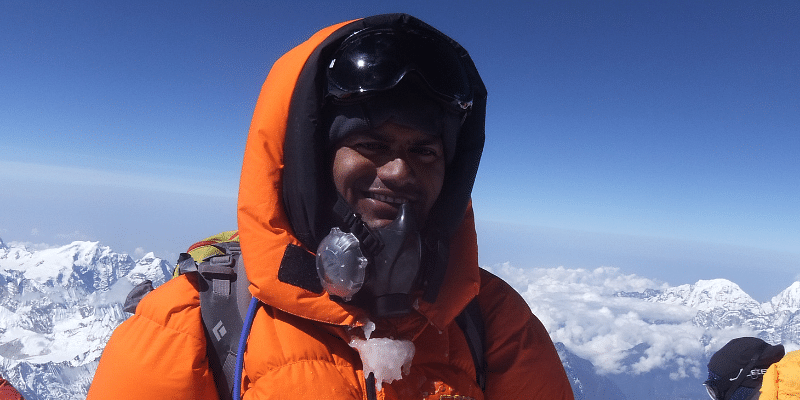 Ravindra, Everest, IAS officer