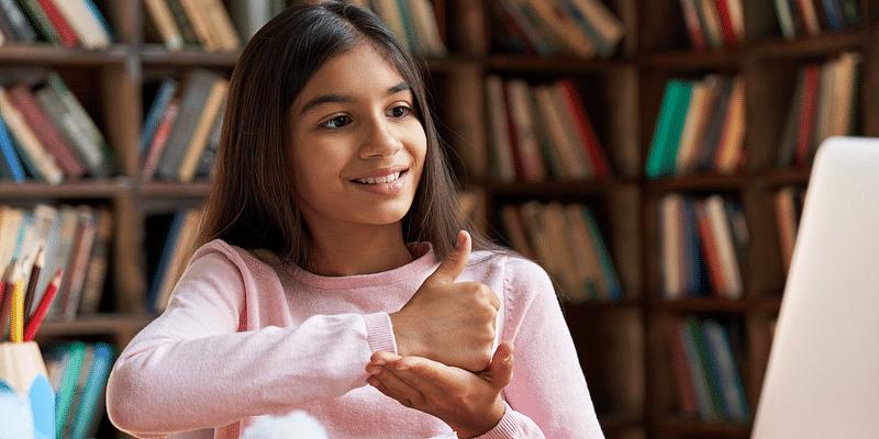 Online classes for deaf