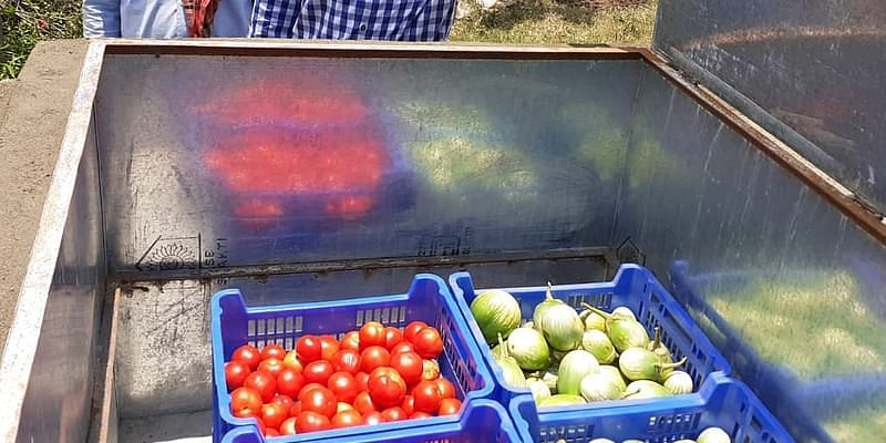 This agritech startup helps farmers store produce and sell at a better price