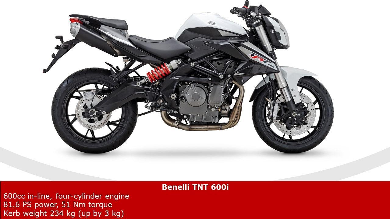 2020 Benelli TNT 600i Unveiled At EICMA | BikeDekho