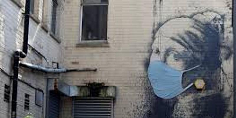 Peinture murale Banksy