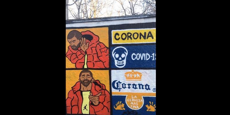 Art mural Drake
