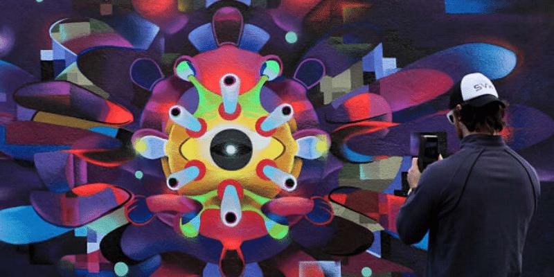 Cor onavirus Mural