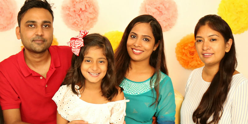 Shruti's family loves shooting videos too