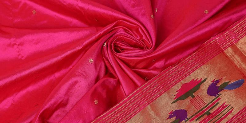 Paithani sarees showcase the skill of the weavers