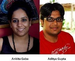 Ankita Gaba and Aditya Gupta Social Samosa