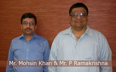 Mr. Mohsin Khan & Mr. P Ramakrishna