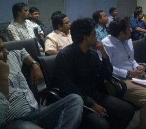 Participants at the Pune workshop