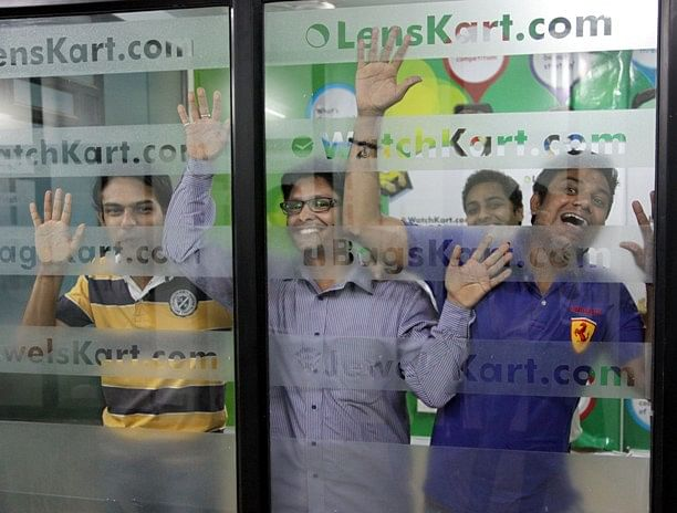Fun times at Lenskart