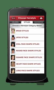 hair app by taaz
