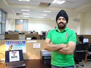Gaurav Khurana, Founder - Dial-a-Bank