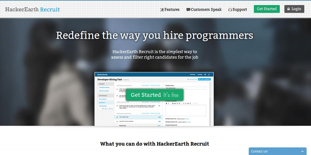 HackerEarth lauches HackerEarth Recruit