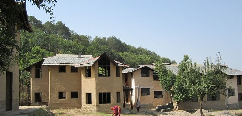 An old people's house in Bagli near Dharamsala designed by Didi Contractor