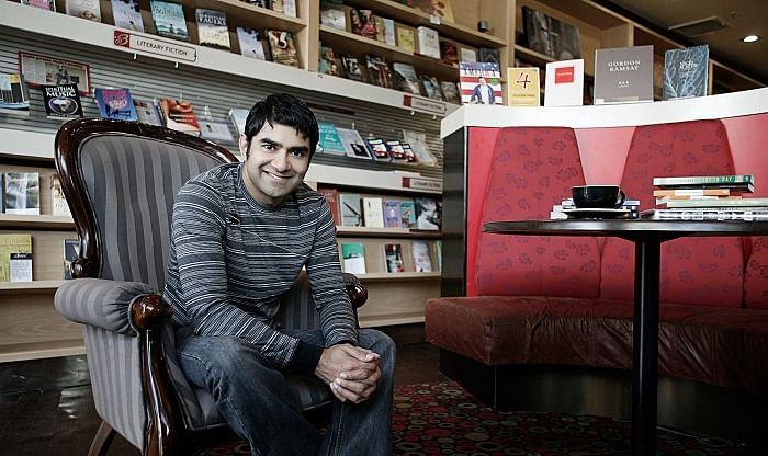 Sharad at Baci Lounge
