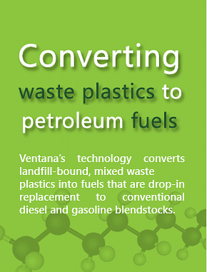 Amit Tandon's journey with Ventana to convert waste plastic into