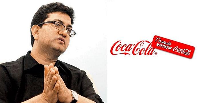 The famous 'Thanda Matlab Coca Cola' campaign by Prasoon Joshi