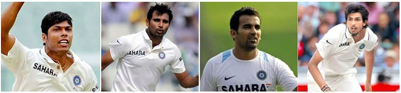 Indian seamers