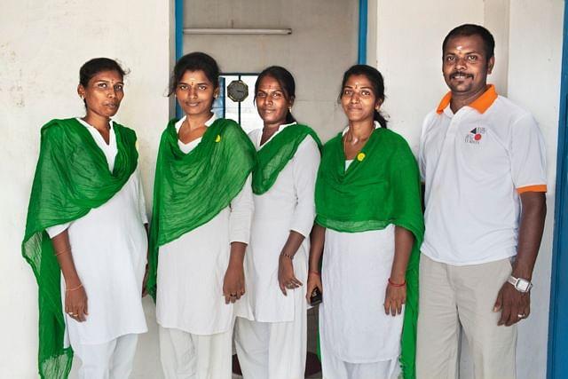 B.A. acupuncturists team in Tamil Nadu