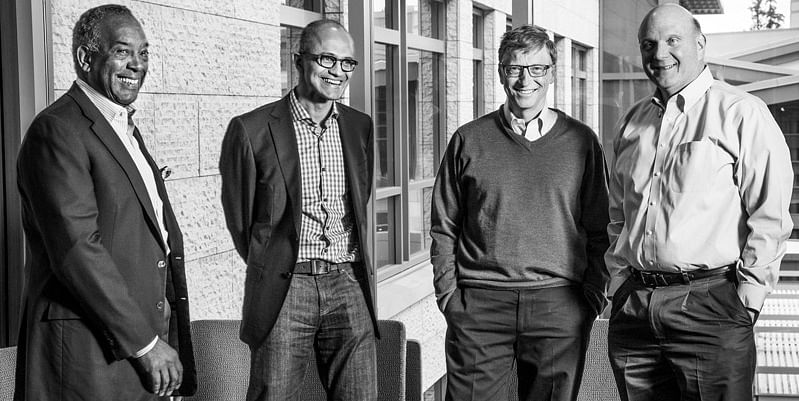 Satya Nadella Bill Gates