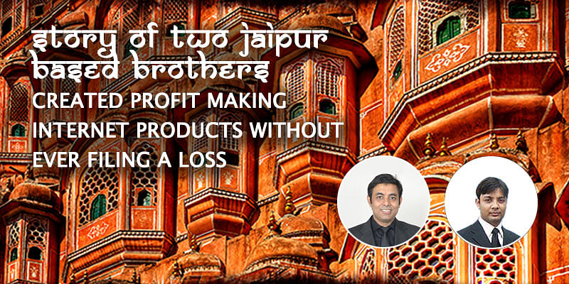 How two Jaipur-based brothers created profit making internet