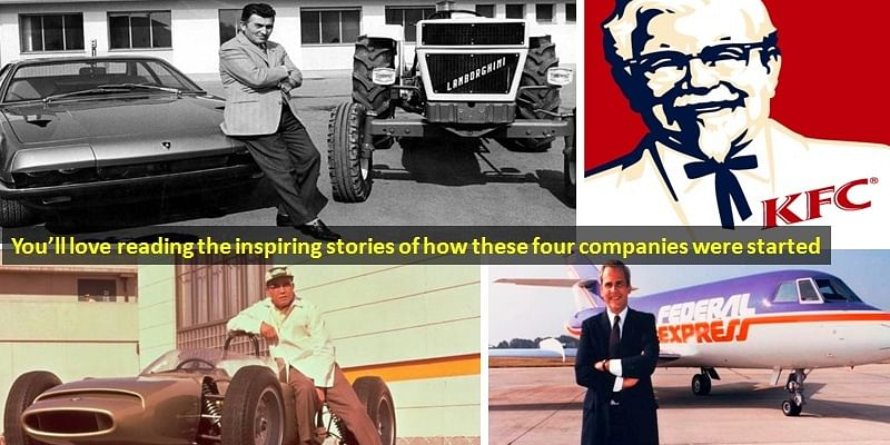 4 inspiring short stories of starting up world famous companies