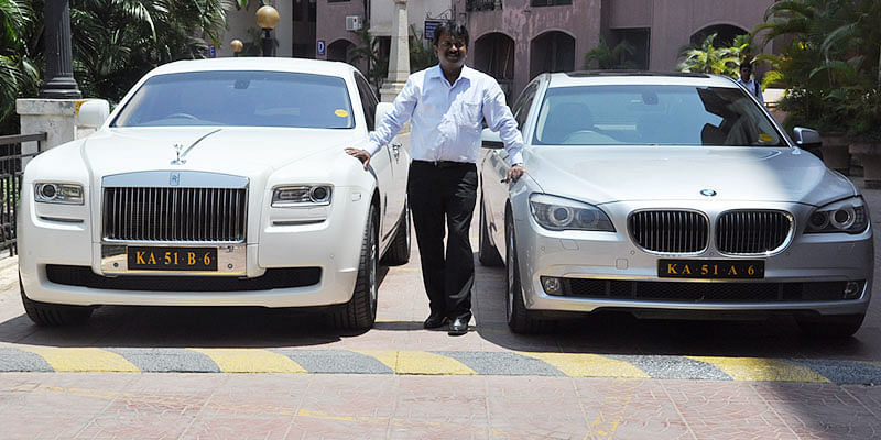 Ramesh Babu The Barber Who Owns A Rolls Royce
